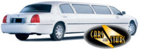 Limo Hire Baxley - Cars for Stars (Ipswich) offering white, silver, black and vanilla white limos for hire